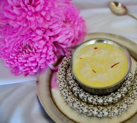 Yachna's Golden Spice Kheer
