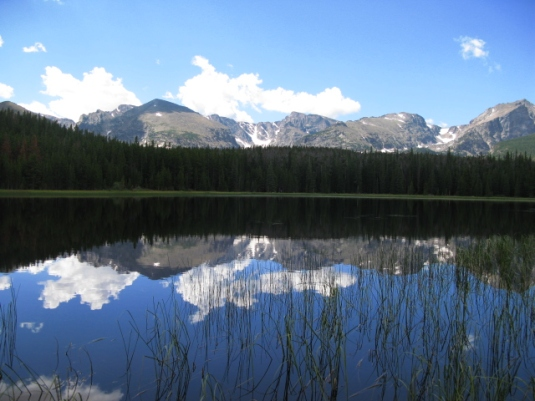 Lake Bierstadt, Colorado, yachnayoga